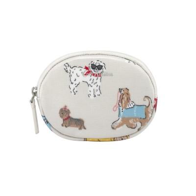 Кошелек овальной формы Small Park Dogs Warm Cream
