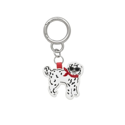 Брелок для ключей Sassy Dog Park Dogs Warm Cream