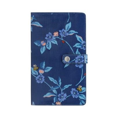 Кошелек для путешествий Greenwich Flowers Midnight Blue