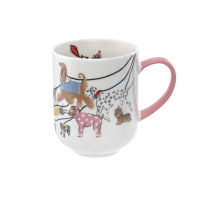 Кружка Alice Small Park Dogs Warm Cream