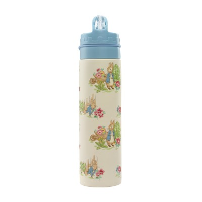 Бутылка для воды складная Кролик Питер Warm Cream