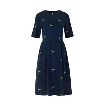 Платье из джерси Park Dogs Navy 10