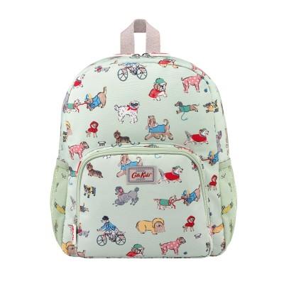 Детский классический большой рюкзак с сетчатым карманом Small Park Dogs Mint