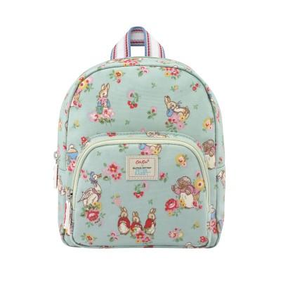 Детский мини-рюкзак Кролик Питер Ditsy Mint