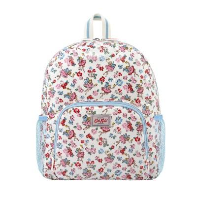 Детский классический большой рюкзак с сетчатым карманом Little Fairies Oyster Shell