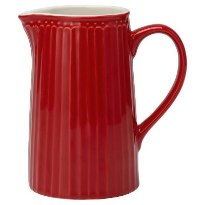 Кувшин Greengate Alice red 1L