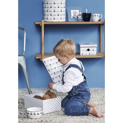 Детская пиала Noah blue 12 см