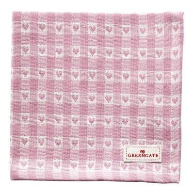 Салфетка Heart petit pale pink 40x40 см