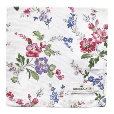 Салфетка Isobel white 40x40 см