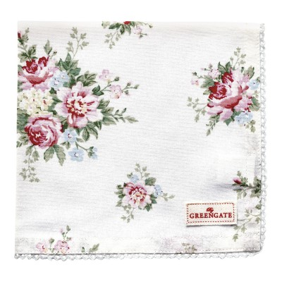 Салфетка Aurelia white 40x40 см