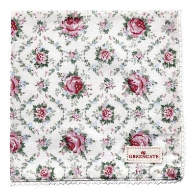 Салфетка Malene petit white 40x40 см