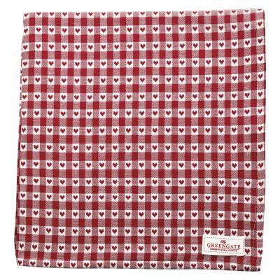 Скатерть Heart petit red 145x250 см