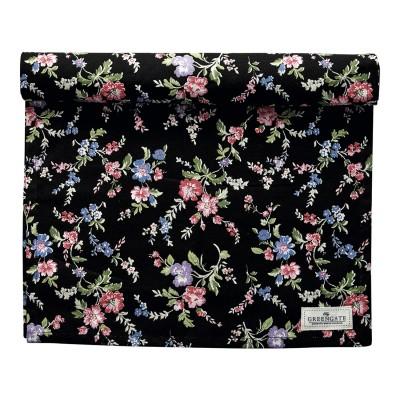 Столовая дорожка Isobel black 45x140 см