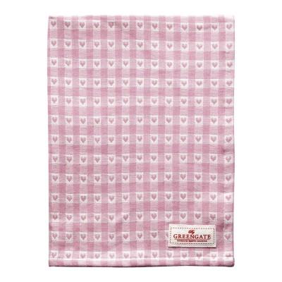 Полотенце Heart petit pale pink 50x70 см