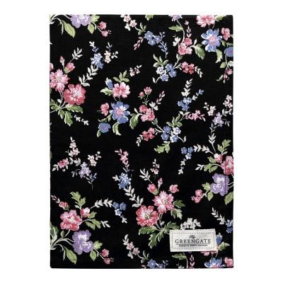 Полотенце Isobel black 50x70 см