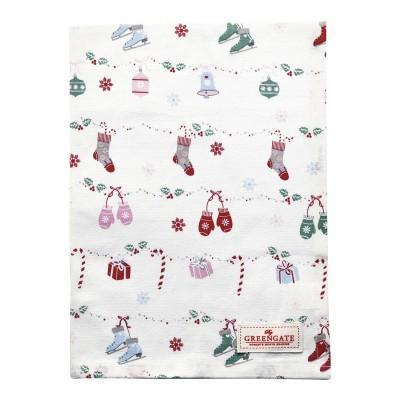 Полотенце Jingle bell white 50x70 см