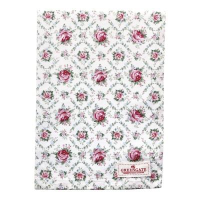 Полотенце Malene petit white 50x70 см