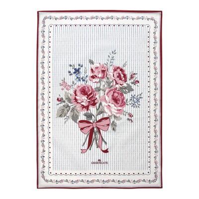 Полотенце Elisabeth white piece printed 50x70 см