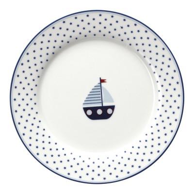 Детская тарелка Noah blue 20 см