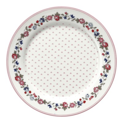 Детская тарелка Ruby petit white 20 см