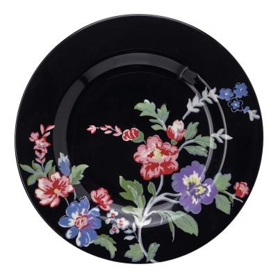 Десертная тарелка Isobel black 15 см