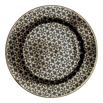 Десертная тарелка Juno gold 15 см
