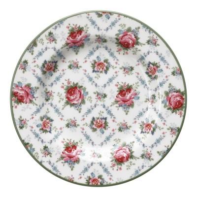 Десертная тарелка Malene petit white 15 см