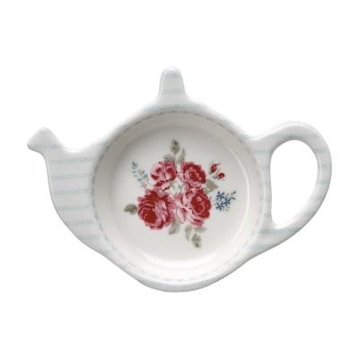 Блюдце для чайных пакетиков Elisabeth white