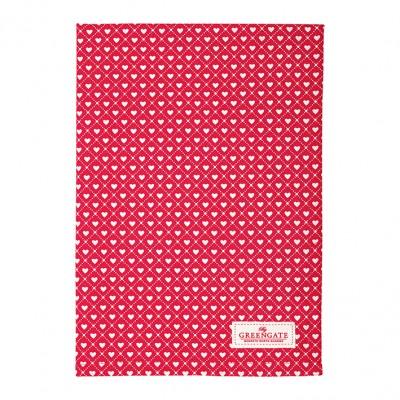 Полотенце Haven red 50x70 см