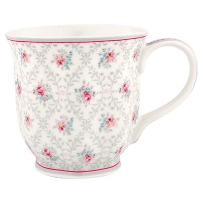Чайная чашка Daisy pale grey