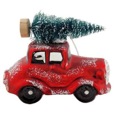 Елочная игрушка Машина с ёлочкой