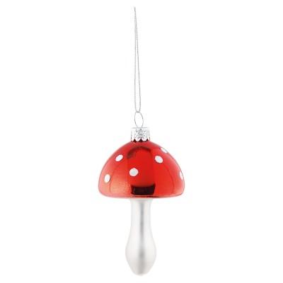 Новогодняя игрушка Гриб красный подвесной