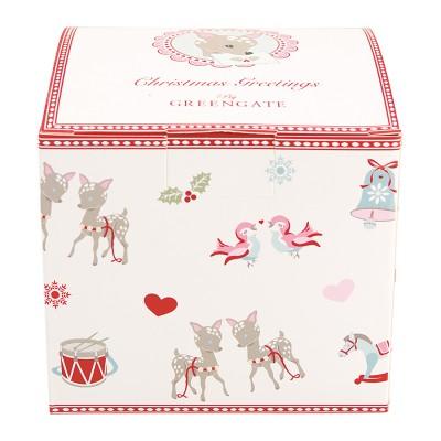 Подарочная коробка Bambi white small
