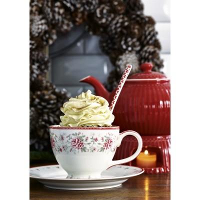 Грелка для чайника Alice red