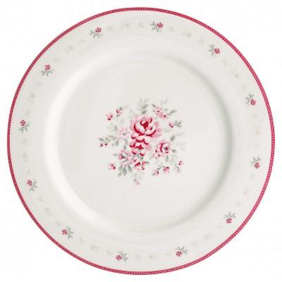 Блюдо Flora white 23,5 см