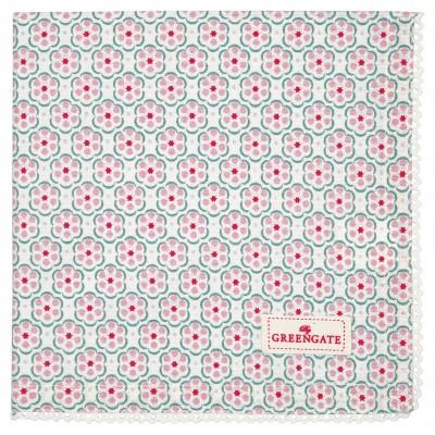 Салфетка Leah pale pink 40х40 см