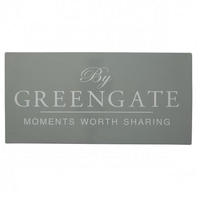 Металлическая табличка GreenGate grey