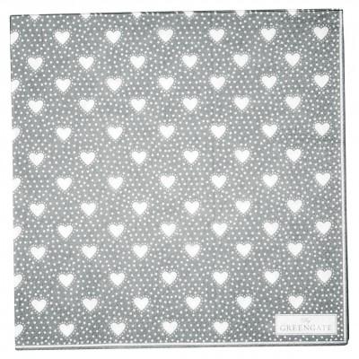 Салфетки бумажные Penny grey 30х30 см 20 шт