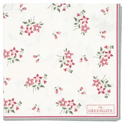 Салфетки бумажные Avery white 25х25 см 20 шт