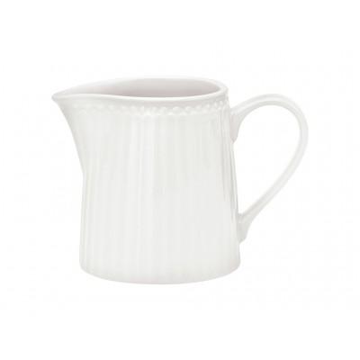 Молочник Alice white