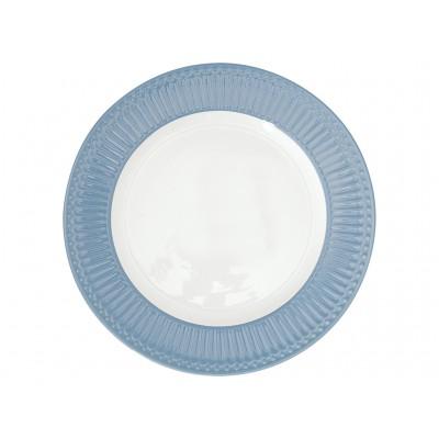 Блюдо Alice sky blue 27 см
