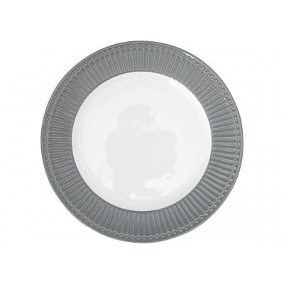 Блюдо Alice stone grey 27 см