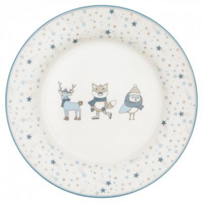 Детская тарелка Forrest pale blue 20 см