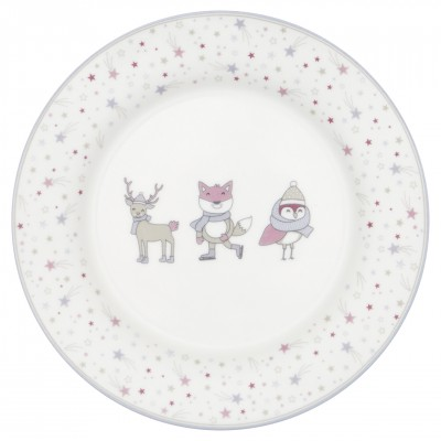 Детская тарелка Forrest lavender 20 см