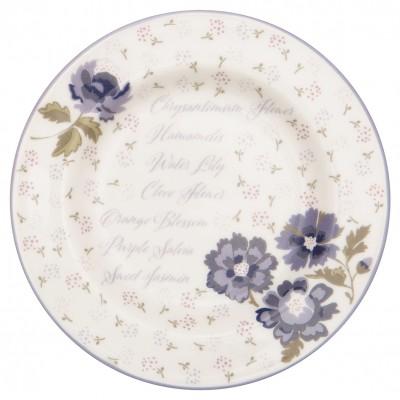 Десертная тарелка Beatrice white 15 см