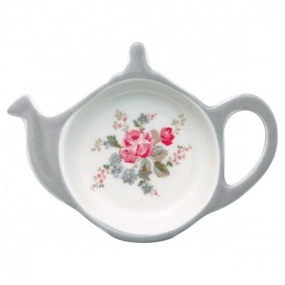 Блюдце для чайных пакетиков Elouise white