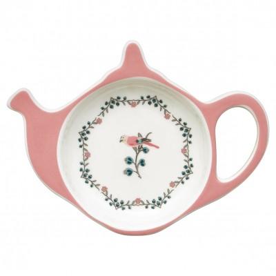 Блюдце для чайных пакетиков Sienna white