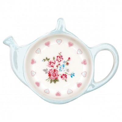 Блюдце для чайных пакетиков Sonia white