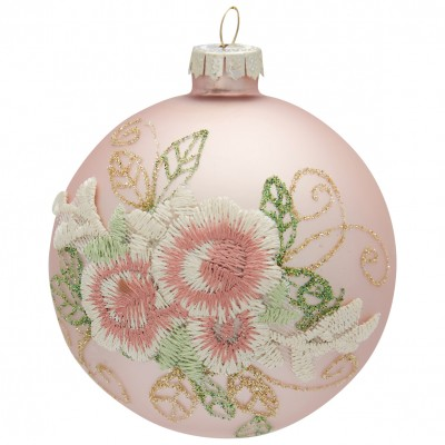 Новогодний шар Sonia rose lace
