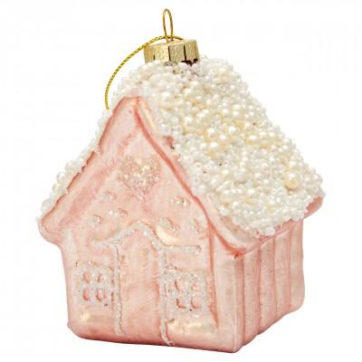 Новогодняя игрушка House pale pink